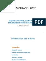Chap 3-v2020  Alliages, Solidification, structure et défa_uts