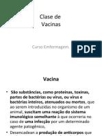 Clase de Vacinas