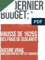 Affiche 2 Post-budget