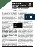 Boletín Marzo 2011