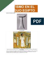 BAUTISMO EN EL ANTIGUO EGIPTO