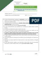 Ficha de Reconhecimento TIC 3B