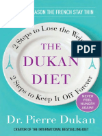 The Dukan Diet by Dr. Pierre Dukan - Excerpt