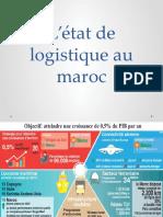 L'état de logistique au maroc