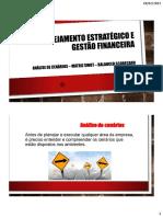 ANÁLISE DE CENÁRIOS - MATRIZ SWOT - BSC