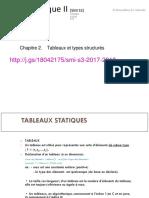 2-Tableaux Et Structures