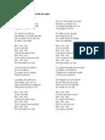 Poezie - Ursul Pacalit de Vulpe