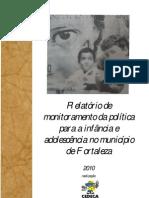 relatório monitoramento revisto - Fortaleza