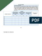 EVALUACION DIAGNOSTICA Matemática 1° instrumento 1
