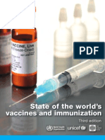 state of worlds vaccines and immunization