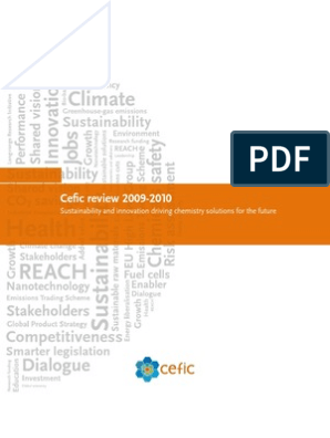 cefic-review-2009-2010 | Sustainability | European Union