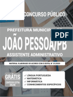 Op 072dz 20 Joao Pessoa Pb Assistente Adm