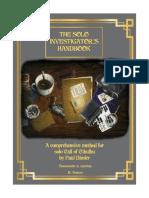 the solo investigador esp