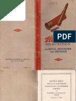 Каталог фирмы Western Cartridge Co.-1927 (США) (оф)