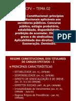Cpv - Temas 02 e 03 - Prof. Luana Aita