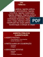 CPV- Tema 01 - Dir. Administrativo - Prof. Luana Aita (1)