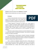 Tarefa Avaliativa Individual-Ciclo 3