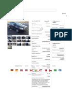 2010 Dodge Caliber 2.0 SE для продажи в Copart Germany Frankfurt — аукционы битых авто