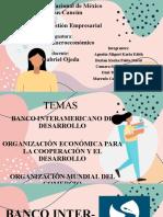 ORGANIZACIÓN ECONÓMICA PARA LA COOPERACIÓN Y EL DESARROLLO