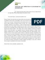 ASPECTOS BIOPSICOSSOCIAIS QUE IMPACTAM NA QUALIDADE DE VIDA DO IDOSO EM HEMODIÁLISE