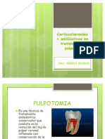 antibioticos en pulpotomias
