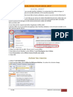 2 - Cours VBA Excel 2007