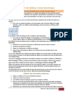 4 -Créer Un Rapport de Tableau Croisé Dynamique