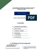 Incidencia, Conocimiento de Bioseguridad y Farmacovigilancia