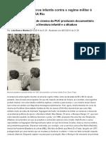Engajamento de livros infantis contra o regime militar é tema de filme _ VEJA Rio