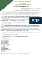 l5553 apresentação de documento de Identificação pessoal