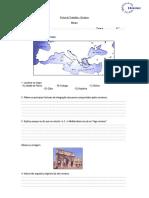 Ficha de Trabalho - Roma