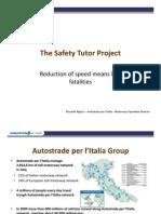 Presentation Safety Tutor of radar Italia