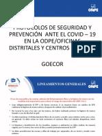 Protocolo de Odpe 2021