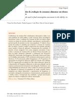 Artigo - Vitamina B12 e métodos de avaliação de consumo alimentar em idosos
