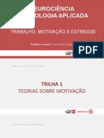 T1 - slides - trabalho motivação e stress