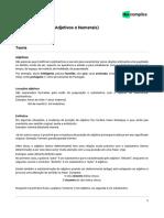 NST Português Palavras Variáveis_Adjetivos e Numerais 3b8a433f3d6bc6152f52167430946c39