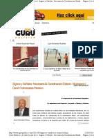 22-03-11 Necesaria la coordinación entre estados y municipios