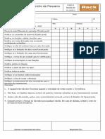 CheckList Diário e Mensal