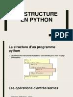 La structure en python