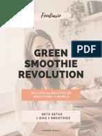 132. Foodiario - Green Smoothie Revolution