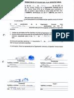 Plan Operativo Anual y Aprobación de La Cuota Familiar-ccpp Huayrapata-chucuito-puno 16.03.2021 (Segundo Entregable)