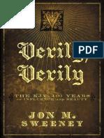 Verily, Verily by Jon Sweeney, Excerpt