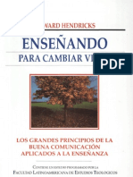 Howard Hendricks - Enseñando para Cambiar Vidas