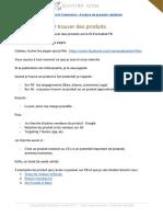 [Destination E-Commerce] Analyse de produits