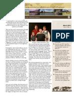 Baylor's newsletter for March 2011