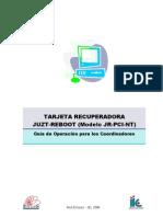 Guia tarjeta recuperadora - Coordinadores v 2006