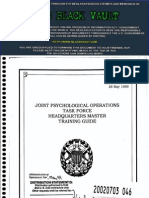 Joint Psychological Operations Task Force Headquarters Master Training Guide