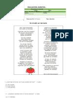 Evaluación Sumativa Lenguaje Poemas