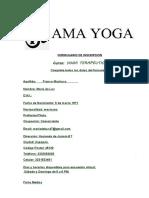 FORMULARIO DE INSCRIPCION Yoga Terapéutico (1)