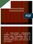 Communication institutionnelle 08-09